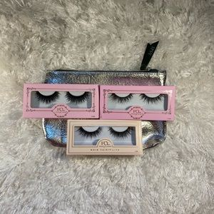 House of lashes 3 pack plus free Ipsy bag